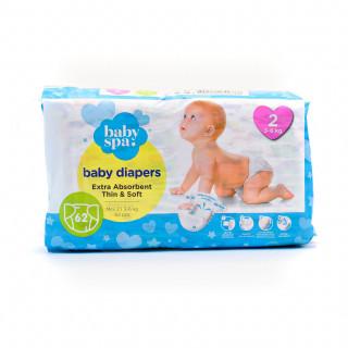 Baby spa pelene 2 mini 3-6kg 62kom