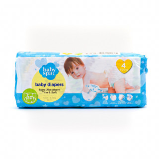 Baby spa pelene 4 maxi 9-20kg 50kom