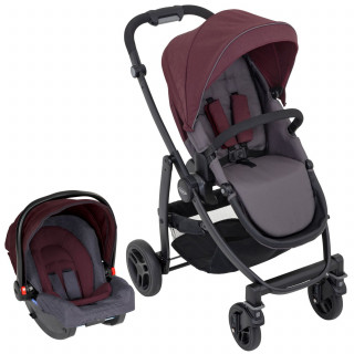 Graco duo sistem Evo, crimson