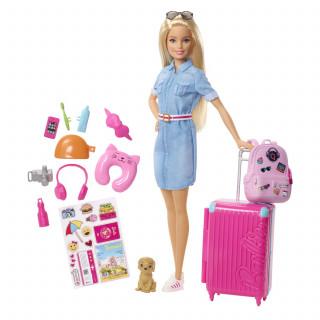 Barbie travel lutka u setu