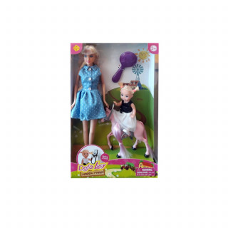 Defa Lutka Sa ponijem I devojcicom na farmi