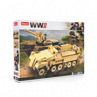 Sluban kocke, vojnički tenk, 460 kom
