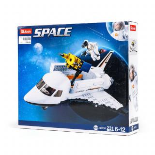 Sluban kocke, space-shuttle, 231 kom