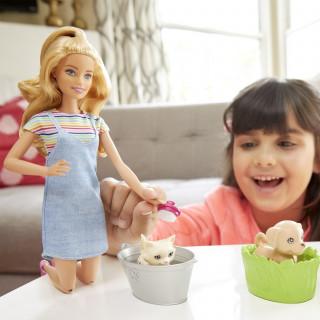 Barbie I Ljubimci Set Zabava Na Kupanju