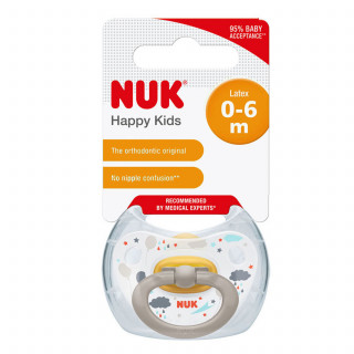 Nuk laža kaučuk happy kids vel1