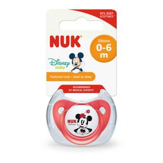 Nuk laža silikon Mickey Mouse vel1