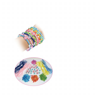 Creative Toys pletene narukvice za devojčice