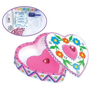 Creative Toys set za ukrašavanje u obliku srca
