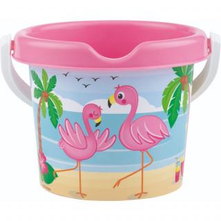 Androni Giocattoli kofica za pesak flamingos