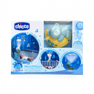 Chicco muzički projektor Next2Moon, plavi