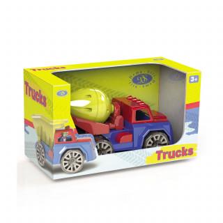 Kamion Mikser sa figurom u kutiji