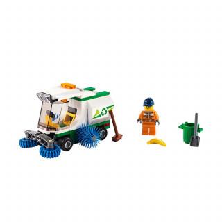 Lego City street sweeper