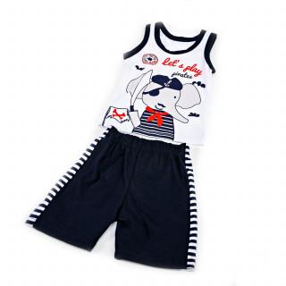 Pom Pom komplet (majica atlet, šorts), dečaci