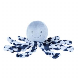 Nattou plišana igračka hobotnica, plava
