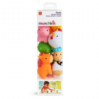 Munchkin igračka za kupanje farma 8 kom