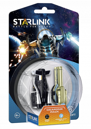 Starlink Weapon Pack Iron Fist + Freeze Ray
