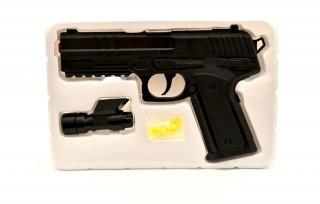 Cigioki pistolj sa svetlom na baterije