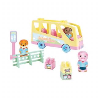 Ecoiffier školski autobus set