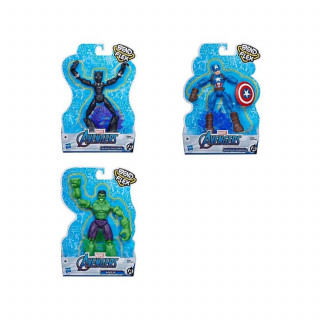Avengers Bendy figura asst