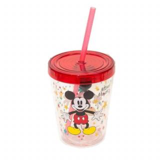 Disney čaša plastična sa slamčicom