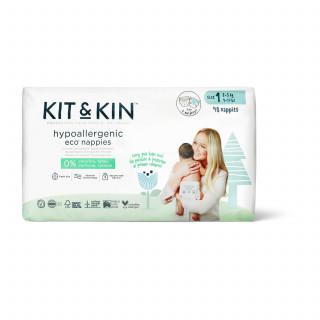 Kit & Kin pelene veličina 1  2-5kg 40 kom