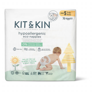 Kit & Kin pelene veličina 5  11+kg 30 kom