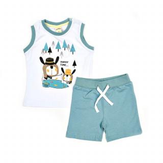 Lillo&Pippo komplet(majica atlet, bermude), dečaci