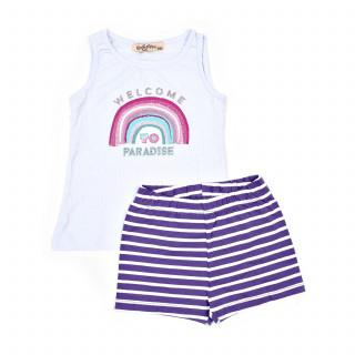 Lillo&Pippo pidžama atlet, devojčice