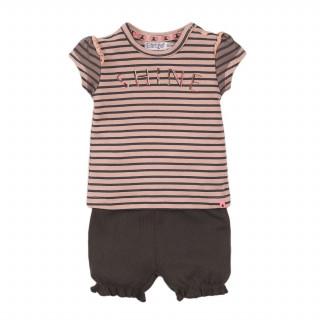 Dirkje komplet (majica kr, šorts), devojčice