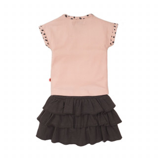 Dirkje komplet (majica kr, suknja), devojčice