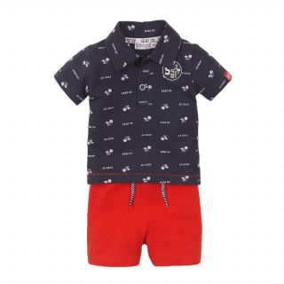 Dirkje komplet (polo majica kr, šorts), dečaci