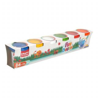 Sunman pakovanje 6 kom 300 gr. (6 boja x 50 gr.)