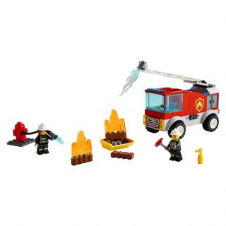 Lego City fire ladder truck