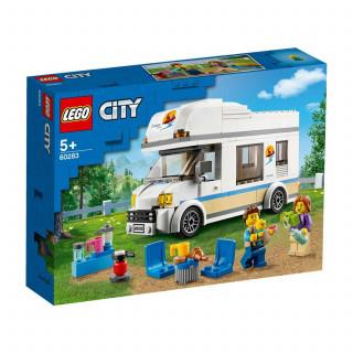 Lego City holiday camper van