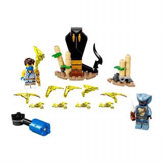 Lego Ninjago epic battle set-Jay vs. Serpentine