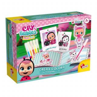 Cry babies bojenje fluo markerima set