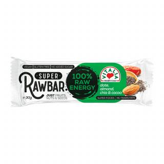 Vitalia Raw bar-urma, čia i kakao 30g