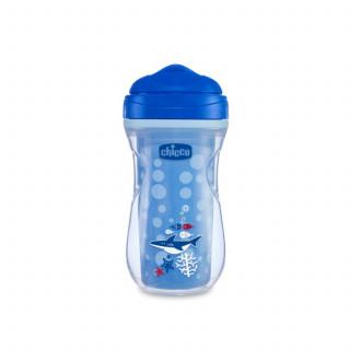 Chicco čaša 12m+, active cup, plava