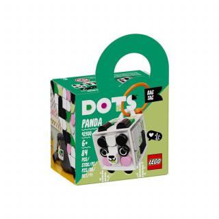 Lego Dots Bag Tag Panda