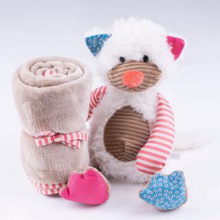 Jungle ćebe sa igračkom, maca