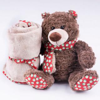 Jungle ćebe sa igračkom, medved