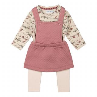 Dirkje komplet3/1(majica,haljina,helanke)devojčice
