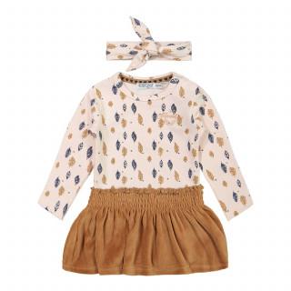 Dirkje komplet 2/1 (haljina, traka), devojčice