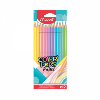 Maped  bojice Color Peps Pastel 1/12