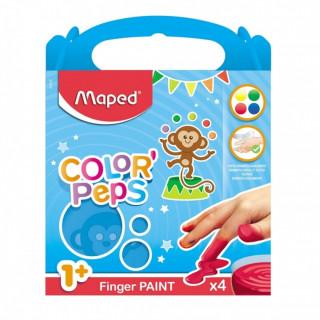 Maped boje za prste 80g X4