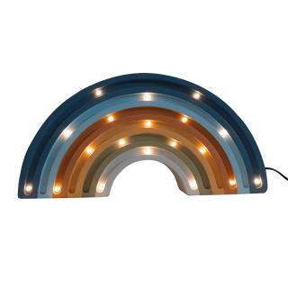 Two N Duga LED lampa AA Denim plava