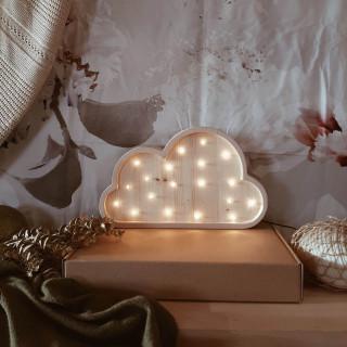 Two N Oblak LED lampa AA Natur