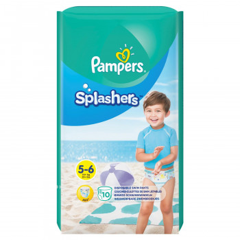 Pampers pelene za kupanje 5 junior 14+kg 10kom