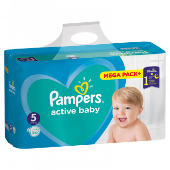 Pampers pelene MB 5 junior 11-16kg 110kom