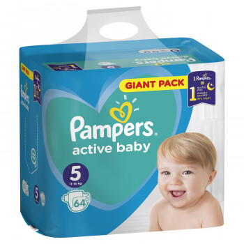 Pampers pelene GP 5 junior 11-16kg 64kom